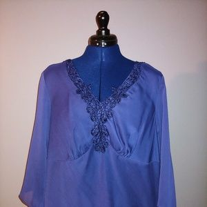 NWT - Purple Womens Top